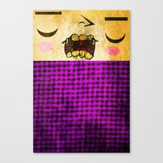 Crunch Canvas Print
