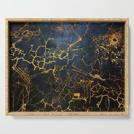 KINTSUGI  ::  Embrace Damage Serving Tray