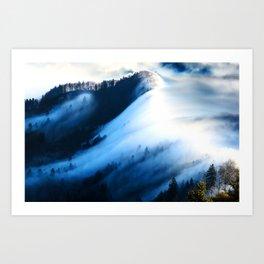 Big Fog Nature Art Print