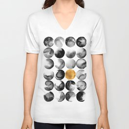 Cosmopolitan Abstract Unisex V-Neck