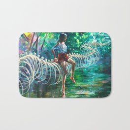 Dopamine Jungle Bath Mat