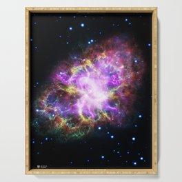Hubble Telescope: Helix Nebula Serving Tray
