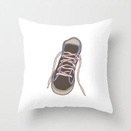 Trainer / Sneaker Throw Pillow