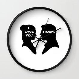 I Love You - I Know Wall Clock