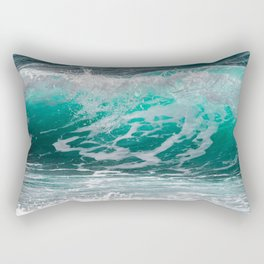 Tropical Surf Rectangular Pillow