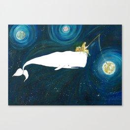 Fishing stars Canvas Print