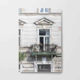 Balcony Lust Metal Print