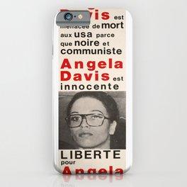Nostalgia liberte pour angela affiche iPhone Case