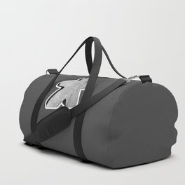 Giant White Meeple Duffle Bag
