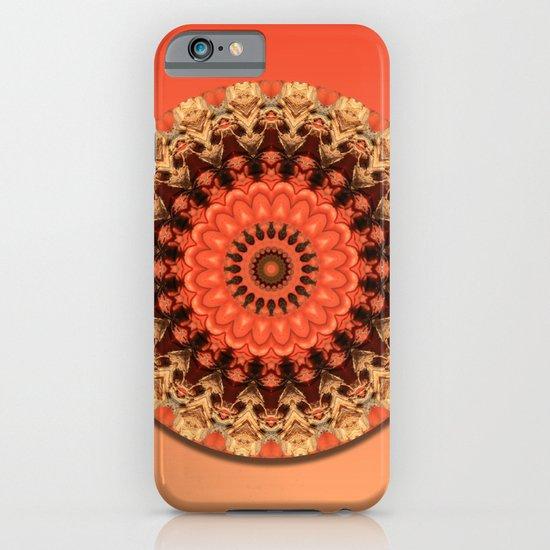 Pumpkin Kaleidoscope iPhone & iPod Case
