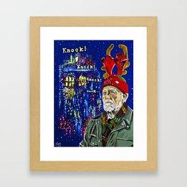 Wilfred Mott and the Four Knocks Framed Art Print