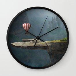 Saving Hand Art Wall Clock