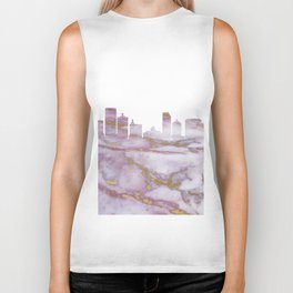 Atlantic City Skyline Biker Tank