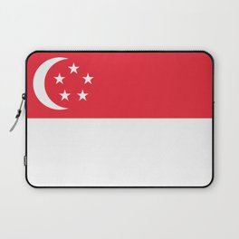 Flag of Singapore Laptop Sleeve