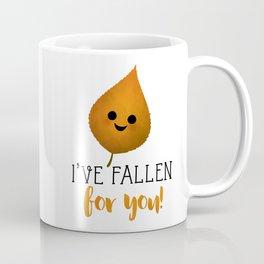 I've Fallen For You - Autumn Leaf Coffee Mug