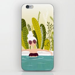 La piscine iPhone Skin