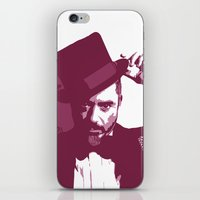robert downey jr iPhone & iPod Skins featuring Mr. Robert Downey Jr. by Arianrhod