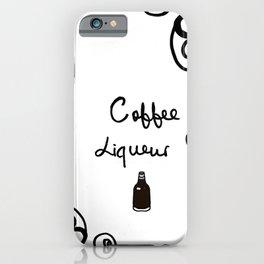 Coffee Liqueur iPhone Case