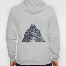 Hand Sketched Dome Hoody