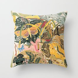 The New Yorker Vintage Cover // 1 Throw Pillow