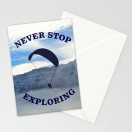 Swiss Alps // Never Stop Exploring Stationery Cards
