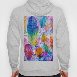 spring feathers Hoody