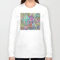greek Long Sleeve T-shirts featuring GREEK PARADISE by S CHANTRAINE