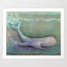 Depths Bellow  Art Print