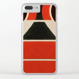 Lucha Libre Mask 2 Clear iPhone Case