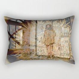 Lisa Marie Basile, No. 81 Rectangular Pillow