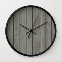 Wood boards Wall Clock
