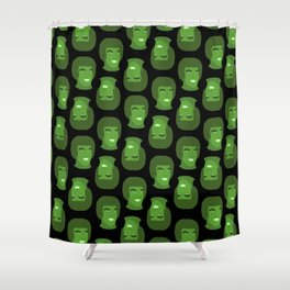 Lou Ferrigno Hulk Shower Curtain