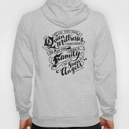 Family Of Snow Angels Hoody