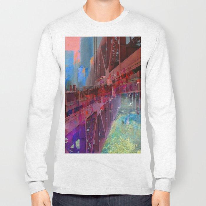 Double bridge Long Sleeve T-shirt