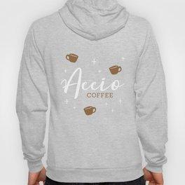 Accio Coffee - Acquire Coffee - Fictional Logo Design Hoody