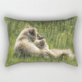 Best Friends Fur Ever - Bear Cubs, No. 8 Rectangular Pillow