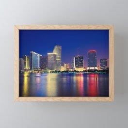 Miami 01 - USA Framed Mini Art Print