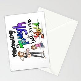 Tough Mom Stationery Cards