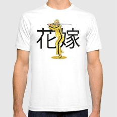 The Bride White Mens Fitted Tee SMALL
