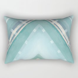 Water Spear | Beachy Rectangular Pillow