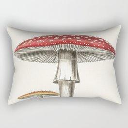 The Real Mushroom Rectangular Pillow