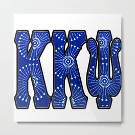 K K Psi Star Metal Print