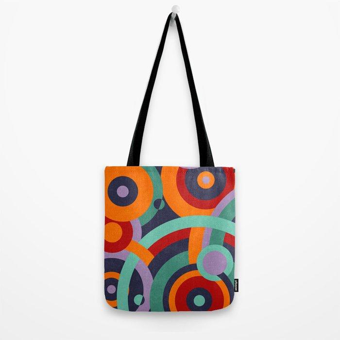 Colorful circles II Tote Bag