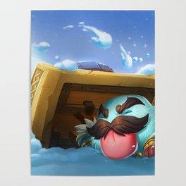 Braum Poro League Of Legends Poster
