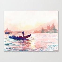 Canal Grande, Venice Canvas Print