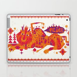 I Wish You Peace Laptop & iPad Skin