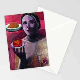 Paula Modersohn Becker Self Portrait Stationery Cards
