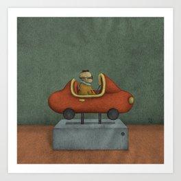 Road to Nowhere - Panel 2 Art Print