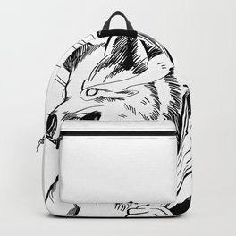 Angry Fox Backpack