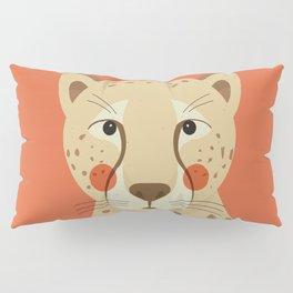 Cheetah, Animal Portrait Pillow Sham